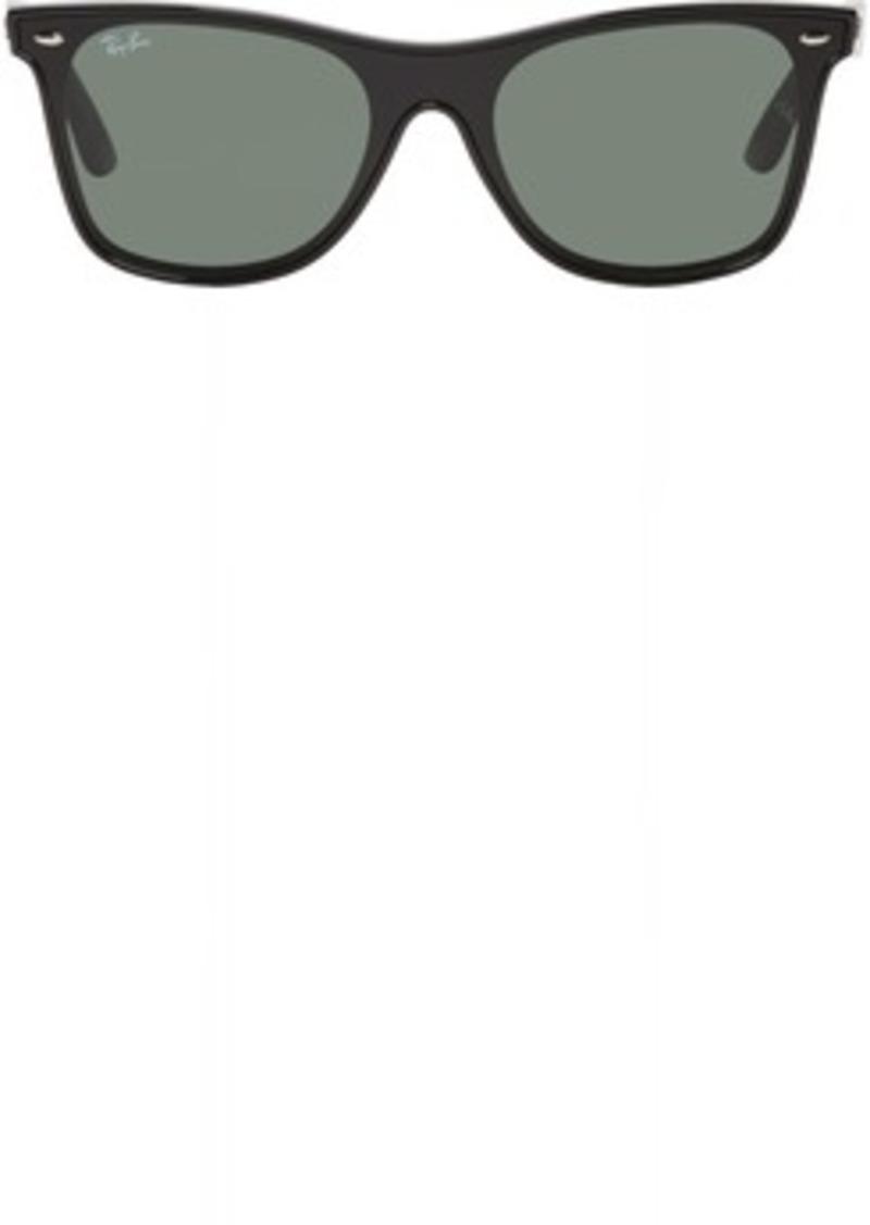 81a493ac06 Ray-Ban Black   Green Blaze Wayfarer Sunglasses