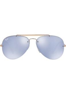 Ray-Ban Blaze Aviator sunglasses
