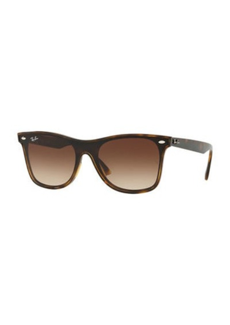 Ray-Ban Blaze Wayfarer Lens-Over-Frame Square Sunglasses