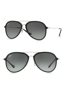 Ray-Ban RB4298 57MM Aviator Sunglasses