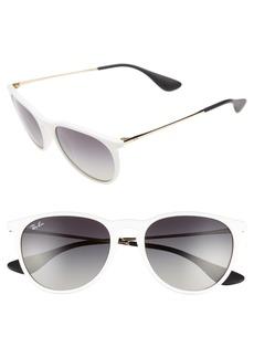 Ray-Ban Erika 54mm Round Sunglasses