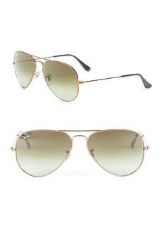 Ray-Ban Gold Aviator Sunglasses
