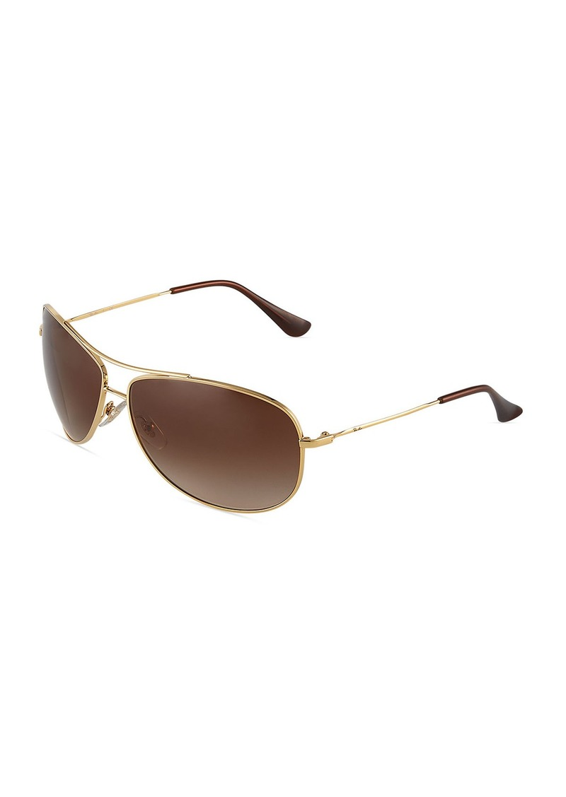 Ray-Ban Gradient Square Acetate Sunglasses