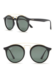 Ray-Ban Highstreet 50mm Brow Bar Sunglasses