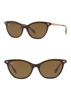 Ray-Ban Highstreet 54mm Cat Eye Sunglasses