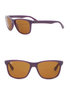 Ray-Ban Highstreet 57mm Square Sunglasses