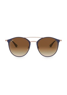 Ray-Ban RB3546 52MM Highstreet Round Sunglasses