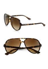 Ray-Ban RB4125 59MM Iconic Cats 5000 Aviator Sunglasses
