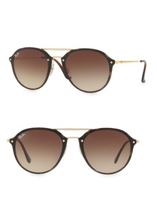 Ray-Ban Iconic Round Aviator Sunglasses