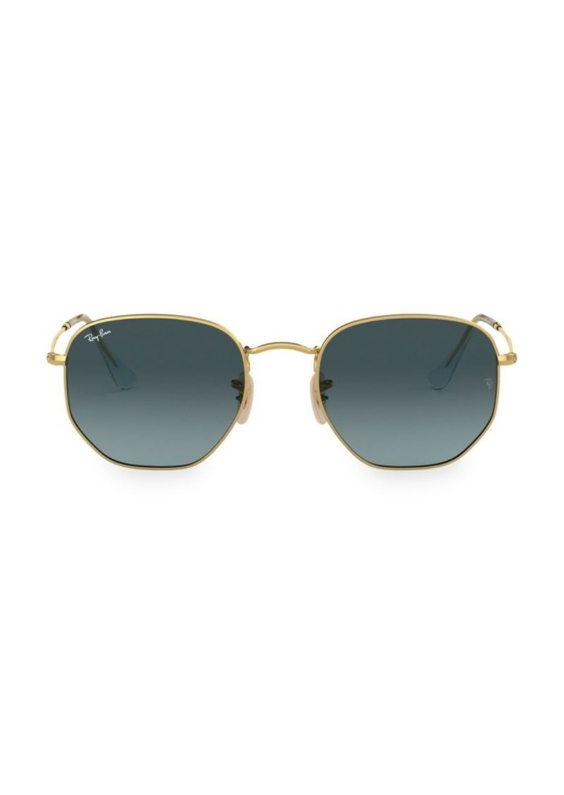 Ray-Ban RB3548 54MM Icons Hexagonal Sunglasses