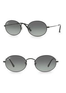 Ray-Ban Logo Round Sunglasses