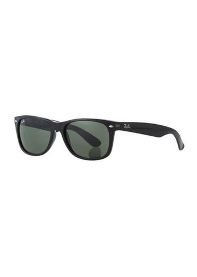 7c290ef28eabb Ray-Ban Men s New Wayfarer 58mm Flat-Top Plastic Sunglasses