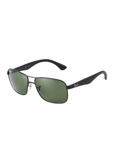 Ray-Ban Metal/Acetate Aviator Sunglasses