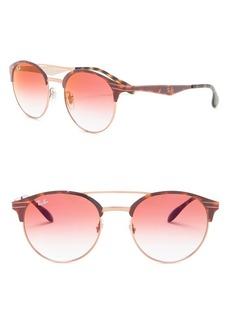 Ray-Ban Phantos 51mm Clubmaster Sunglasses