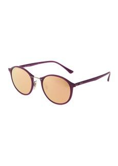 Ray-Ban Phantos Round Plastic Sunglasses