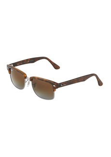 Ray-Ban Polarized Acetate Brow-Line Sunglasses