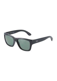 Ray-Ban Polarized Square Acetate Sunglasses