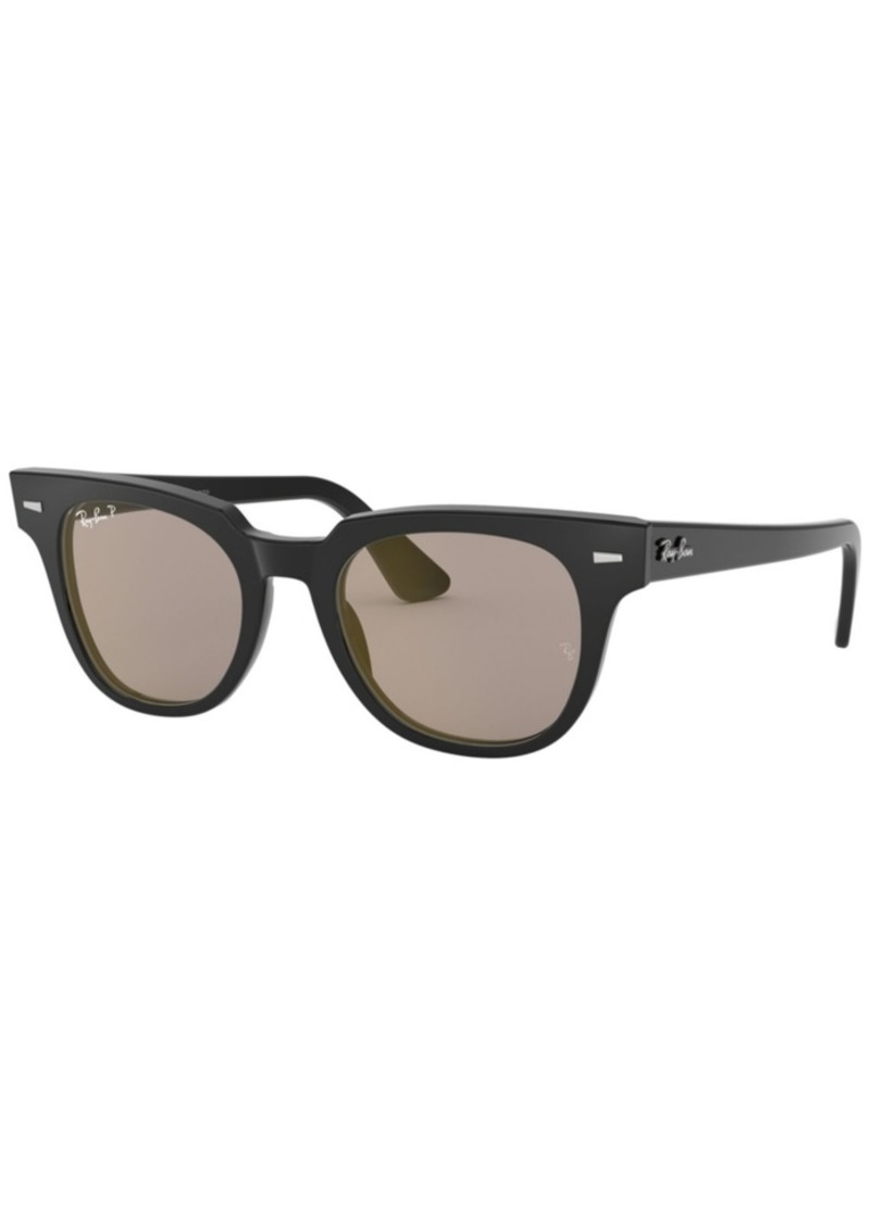 Ray-Ban Ray- Ban Polarized Meteor Sunglasses, RB2168