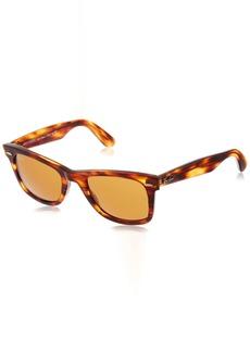 Ray-Ban 0RB2140 Original Wayfarer Sunglasses Light Tortoise 50mm