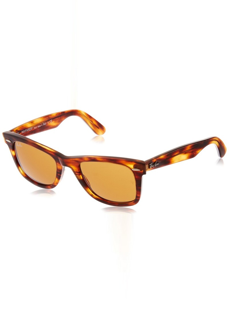 Ray-Ban 0RB2140 Original Wayfarer Sunglasses Light Tortoise 50mm