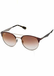 Ray-Ban 0rb3545 Round Sunglasses COPPER ON TOP HAVANA