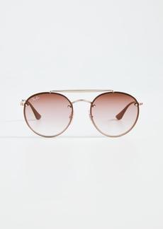Ray-Ban 0RB361 Round Aviator Sunglasses