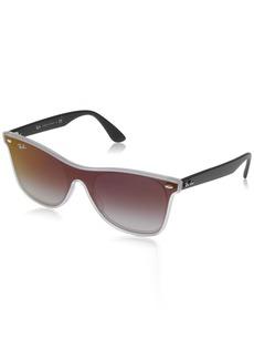 Ray-Ban RB4440N Blaze Wayfarer Sunglasses   Non-Polarized