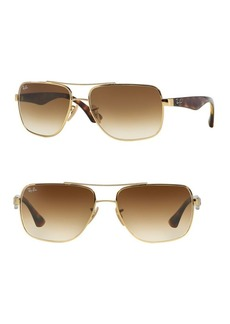 Ray-Ban 16MM Aviator Sunglasses