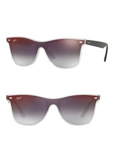 Ray-Ban 41MM Mirrored Wayfarer Sunglasses
