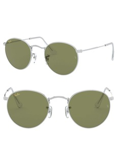 Ray-Ban 47mm Round Sunglasses