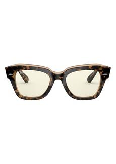 Ray-Ban 49mm Polarized Square Sunglasses