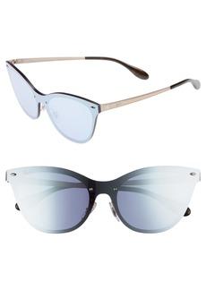 Ray-Ban 50mm Blaze Clubmaster Mirrored Sunglasses