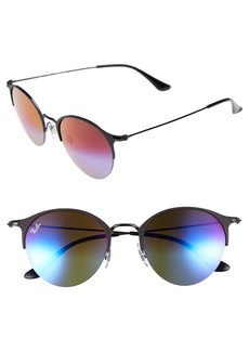 Ray-Ban 50mm Gradient Mirrored Sunglasses
