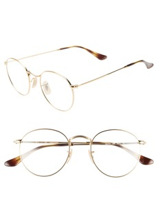 Ray-Ban 50mm Round Optical Glasses