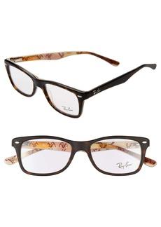 Ray-Ban 50mm Square Optical Glasses