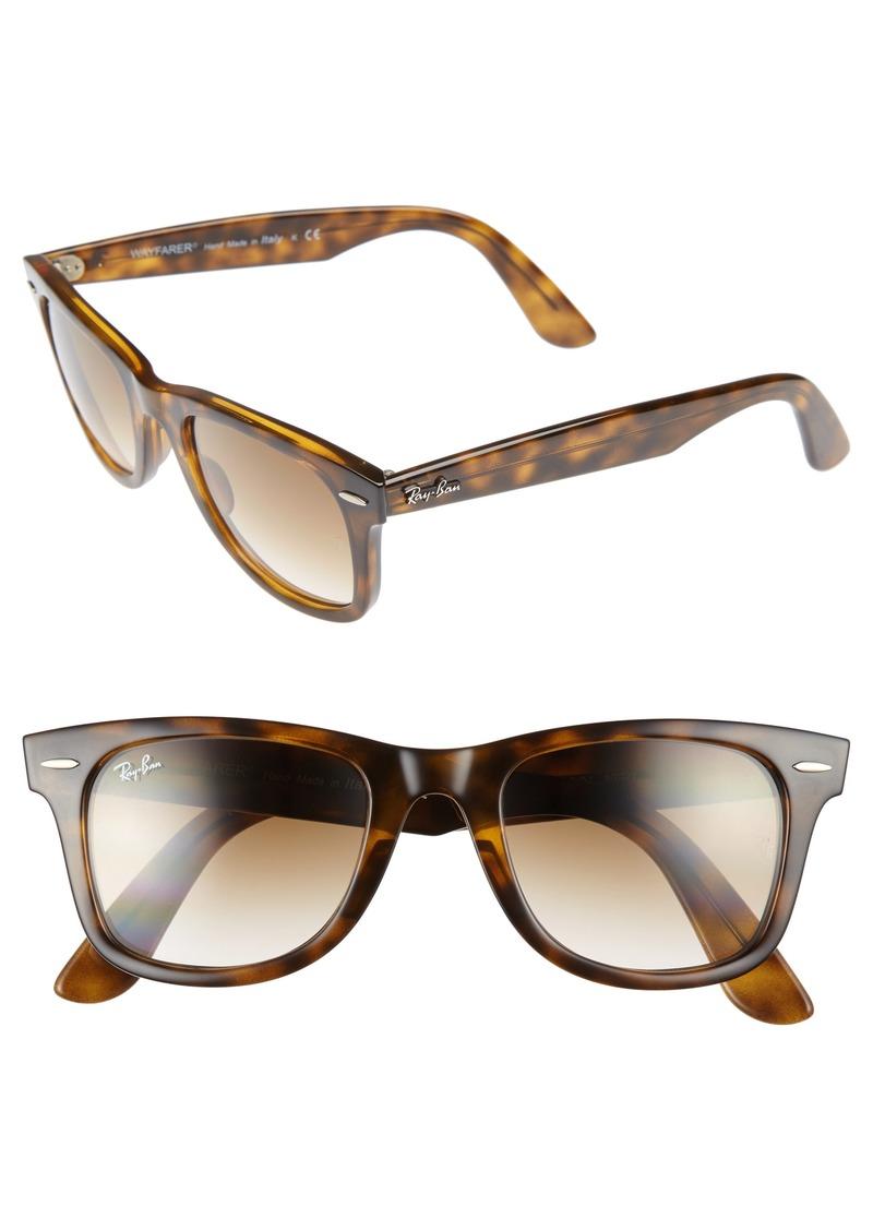 Ray-Ban 50mm Wayfarer Ease Gradient Sunglasses