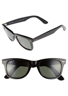 Ray-Ban 50mm Wayfarer Ease Polarized Sunglasses