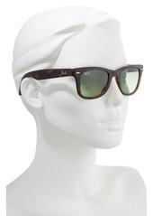 Ray-Ban 50mm Wayfarer Folding Sunglasses