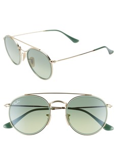 Ray-Ban 51mm Aviator Gradient Lens Sunglasses