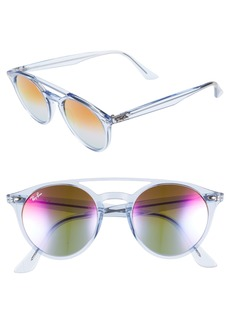 Ray-Ban 51mm Mirrored Rainbow Sunglasses