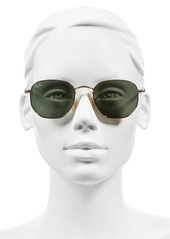 Ray-Ban Icons 51mm Oval Aviator Sunglasses