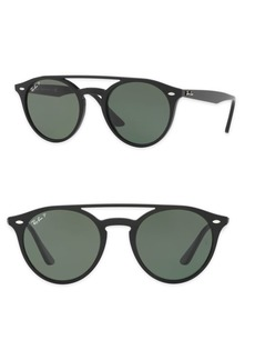 Ray-Ban 51mm Phantos Round Sunglasses