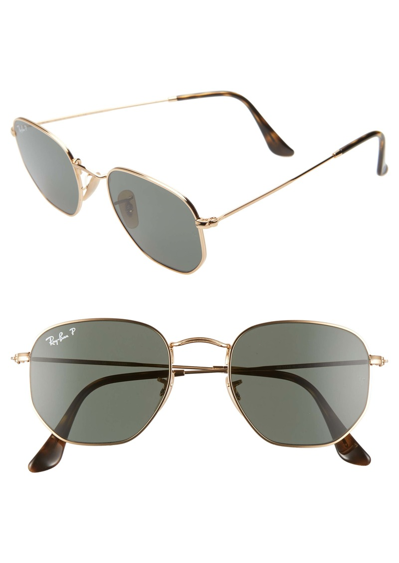 Ray-Ban 51mm Polarized Geometric Sunglasses