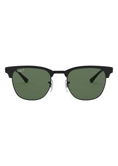 Ray-Ban 51mm Polarized Square Sunglasses