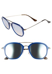 Ray-Ban Highstreet 52mm Aviator Sunglasses