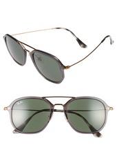 Ray-Ban 52mm Aviator Sunglasses