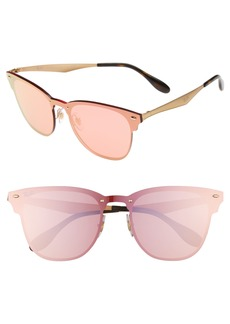 Ray-Ban 52mm Mirrored Sunglasses