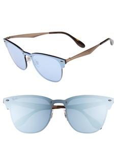 Ray-Ban 52mm Mirrored Sunglasses