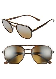 Ray-Ban 53mm Chromance Polarized Aviator Sunglasses