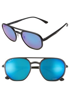 Ray-Ban 53mm Chromance Polarized Aviator Sunglasses